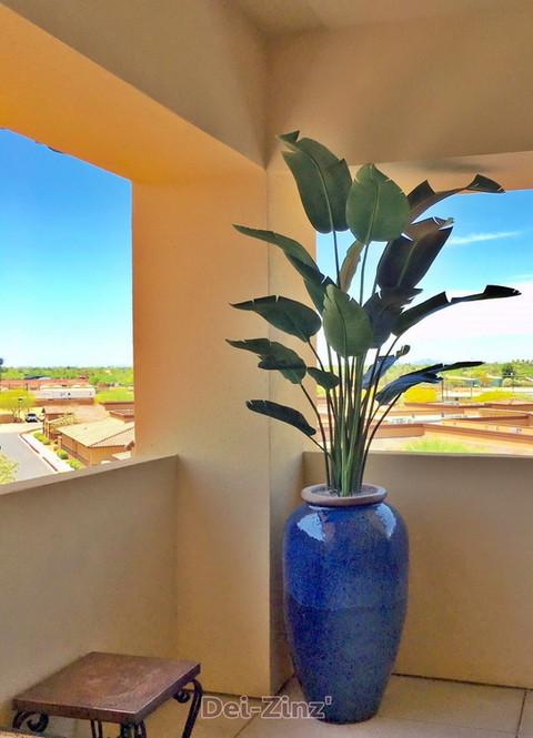 5-foot-artificial-travelers-palm-in-cobolt-vase