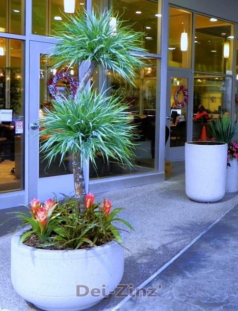 outdoor artificial grass tree