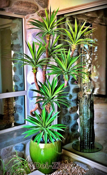 artificial yucca succulent tree