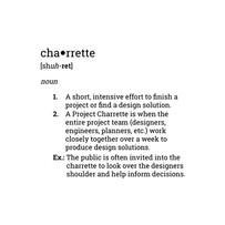 Definition of Charrette