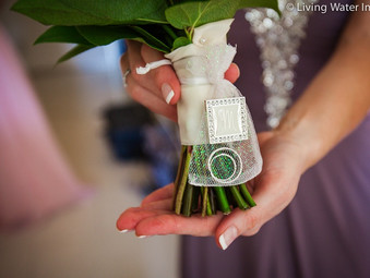 {Jillene and Gareth}- wedding at the Hyatt Key West Resort & Spa- Key west wedding florist
