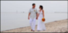 Smathers beach is perfect for Key West weddings