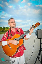 Guitar live music in Key West. Wedding music, guitar, classical guitar in Key West