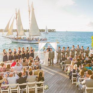 Key West sme sex marriages, gardens weddings