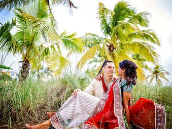 { Lisa & Robert} - Indian wedding style