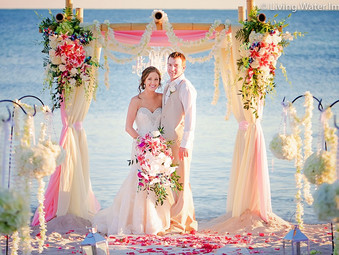 {Kayla & Josh} - Sheraton reception- Key West Florist