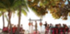 Key West wedding pedicab is such a romantic transportation