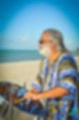 Steel drum musician in Key West. Key West steel drummers are so popular for weddings