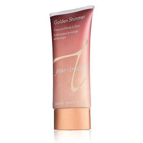 Golden Shimmer Face & Body Lotion
