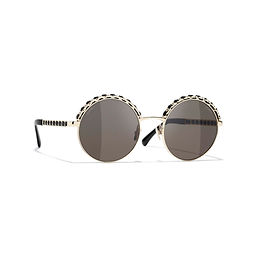 round-sunglasses-gold-black-metal-lambsk