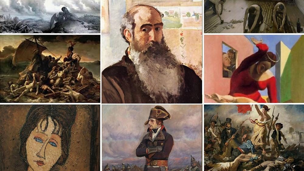 Les peintres au Père Lachaise du 18ème au 20ème siècle