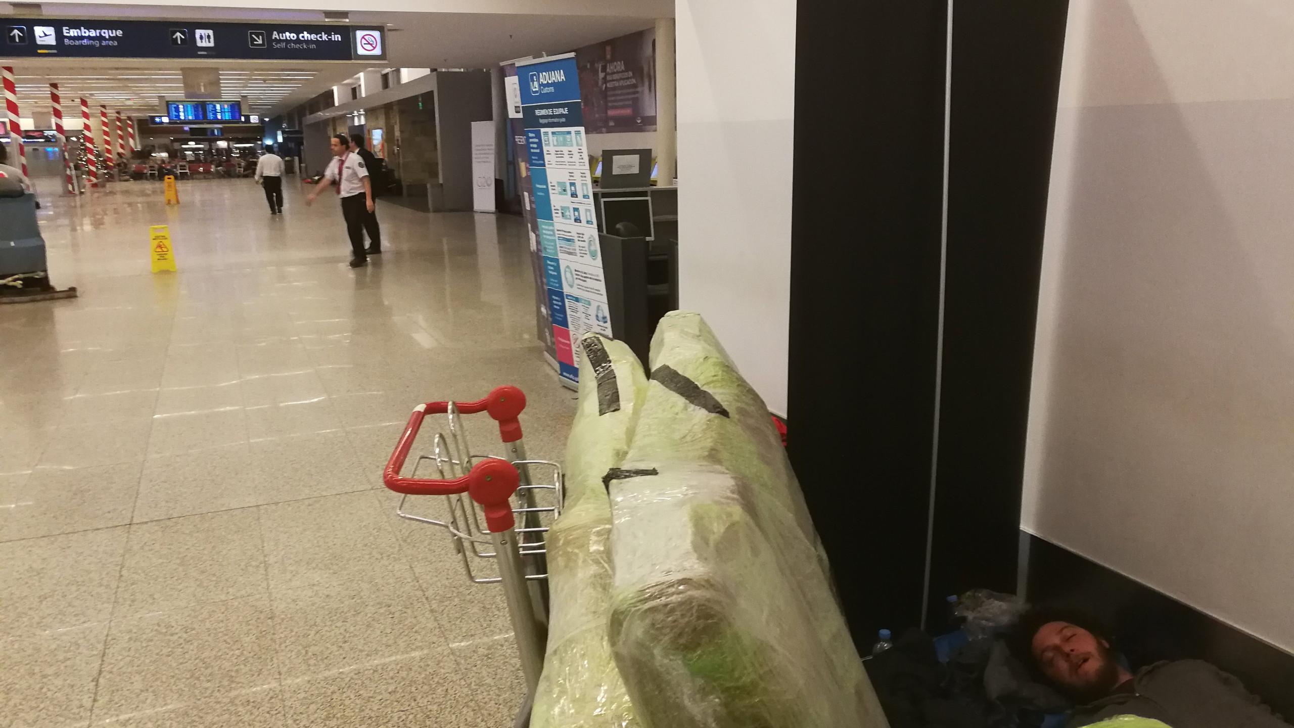 Dodo à l'aéroport