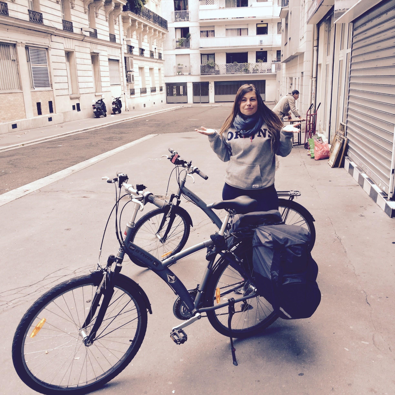 Balade à vélo Paris