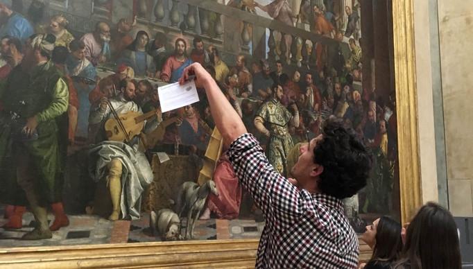 Jeu de piste insolite sur smartphone au Louvre à Paris