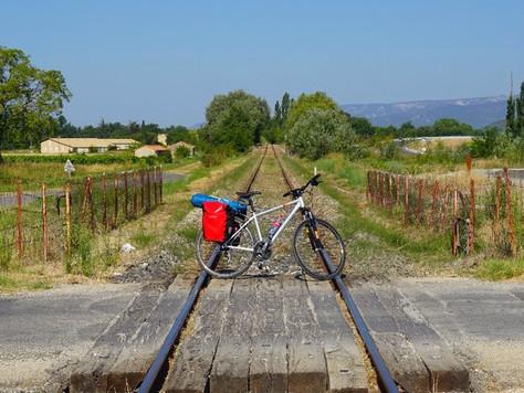 Lubéron à vélo - Partie I - Y aller