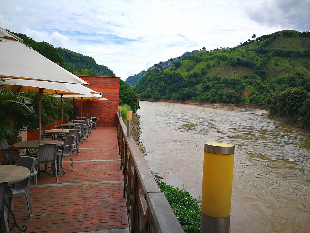 Rio Cauca, Colombie
