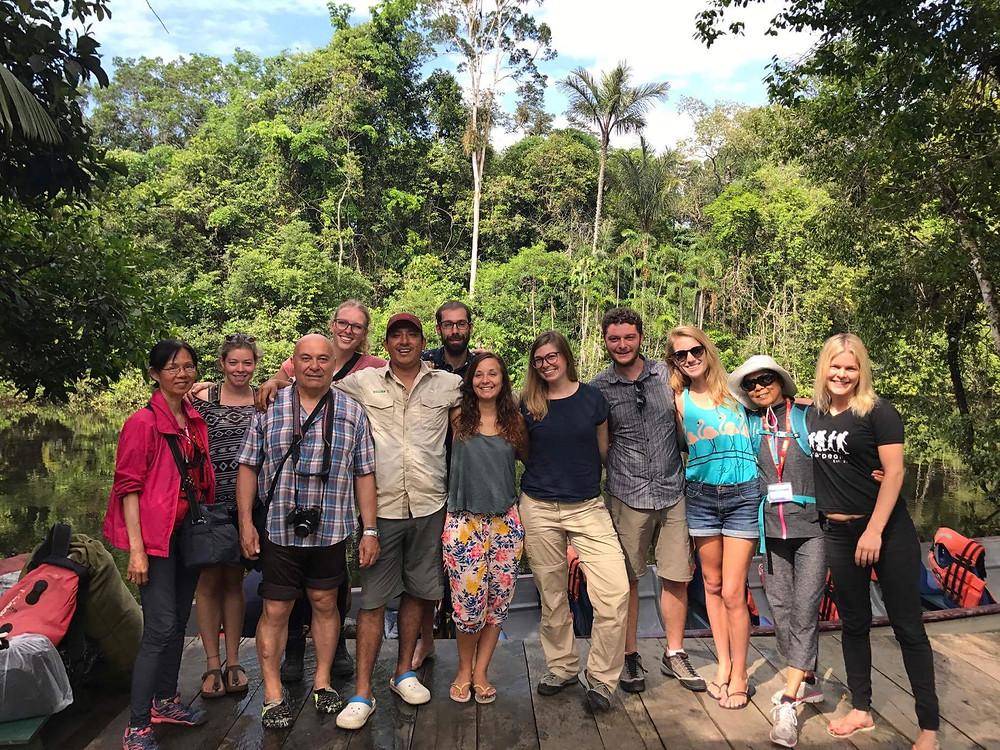 Merci au guide William, Cuyabeno, Amazonie, Equateur