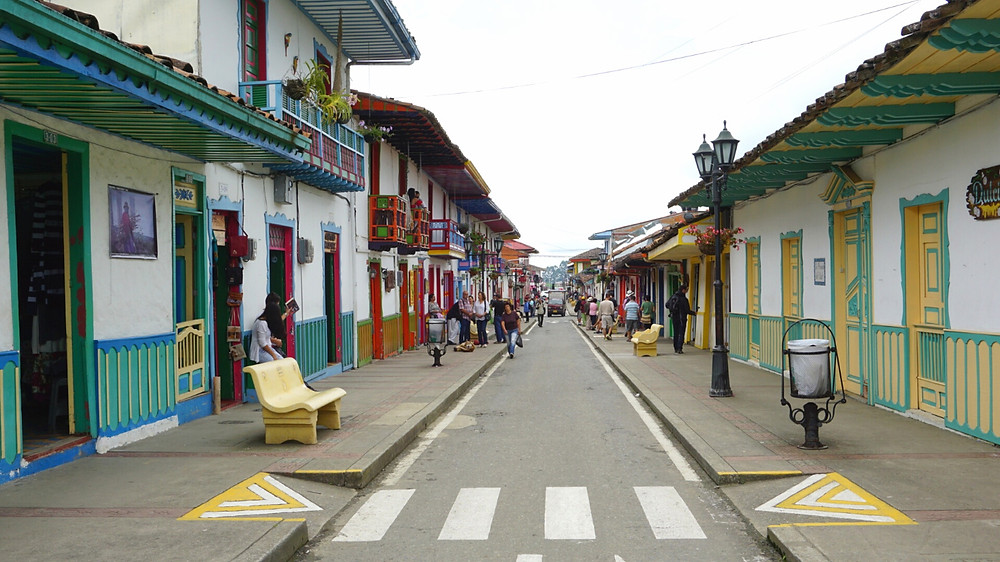 Centre ville, Salento, Colombie