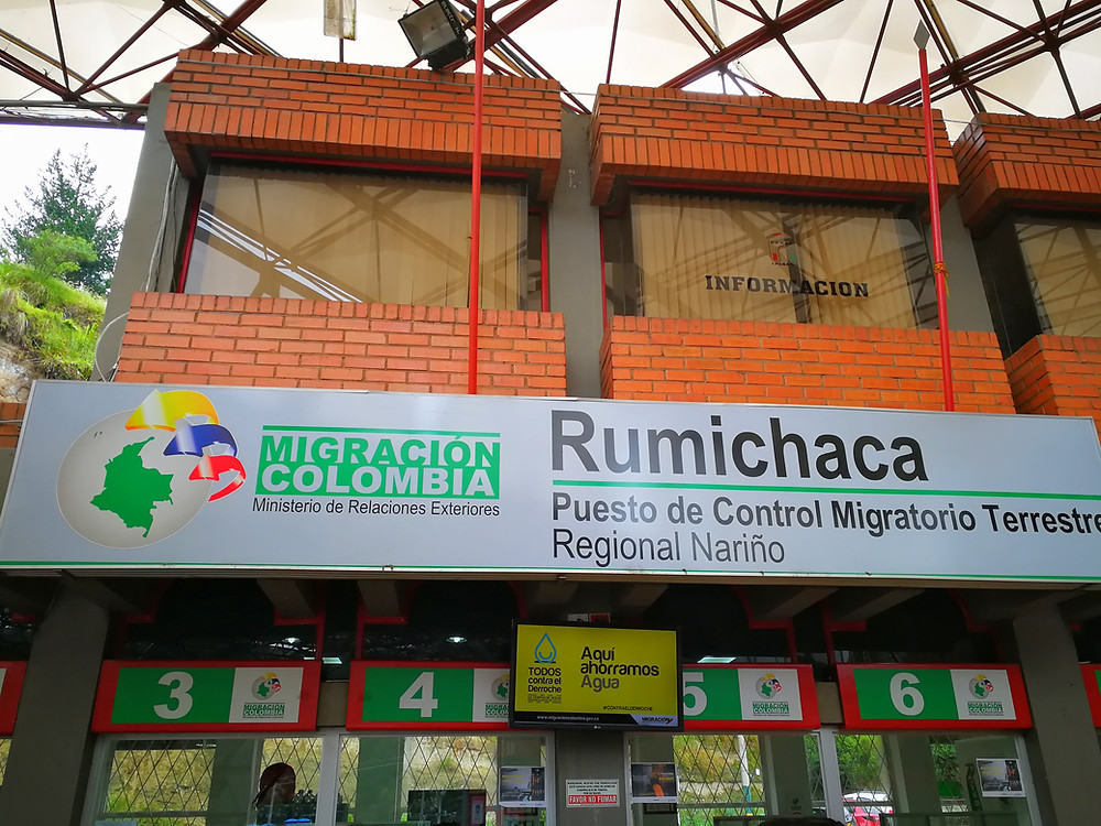 Bureau de l'immigration Colombienne
