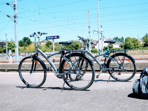Orage et Bords de Loire à vélo - De Moulins à Luneau