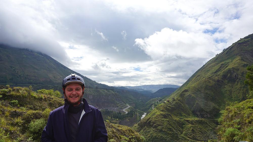 Route de Banos, Equateur