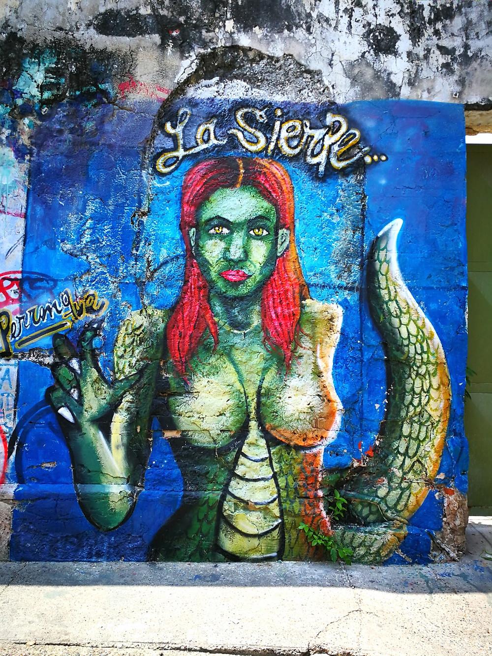 Calle de la Sierpe, Carthagène, Colombie