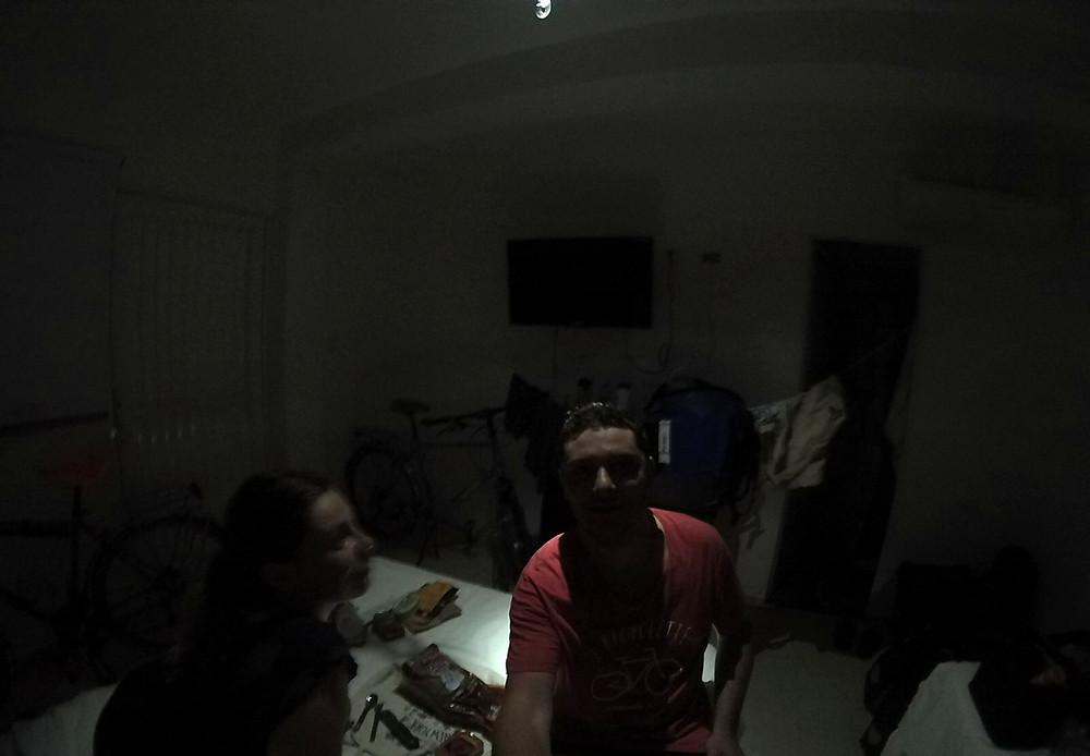 Pas d'électricité ici, il faut chaud, Colombie