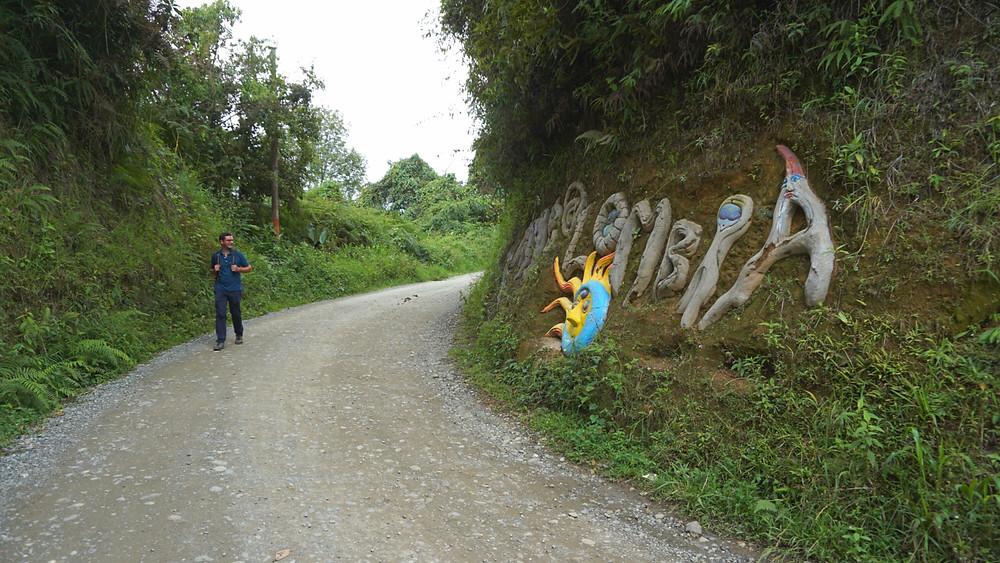 Vers les récoltes de café, Salento, Colombie