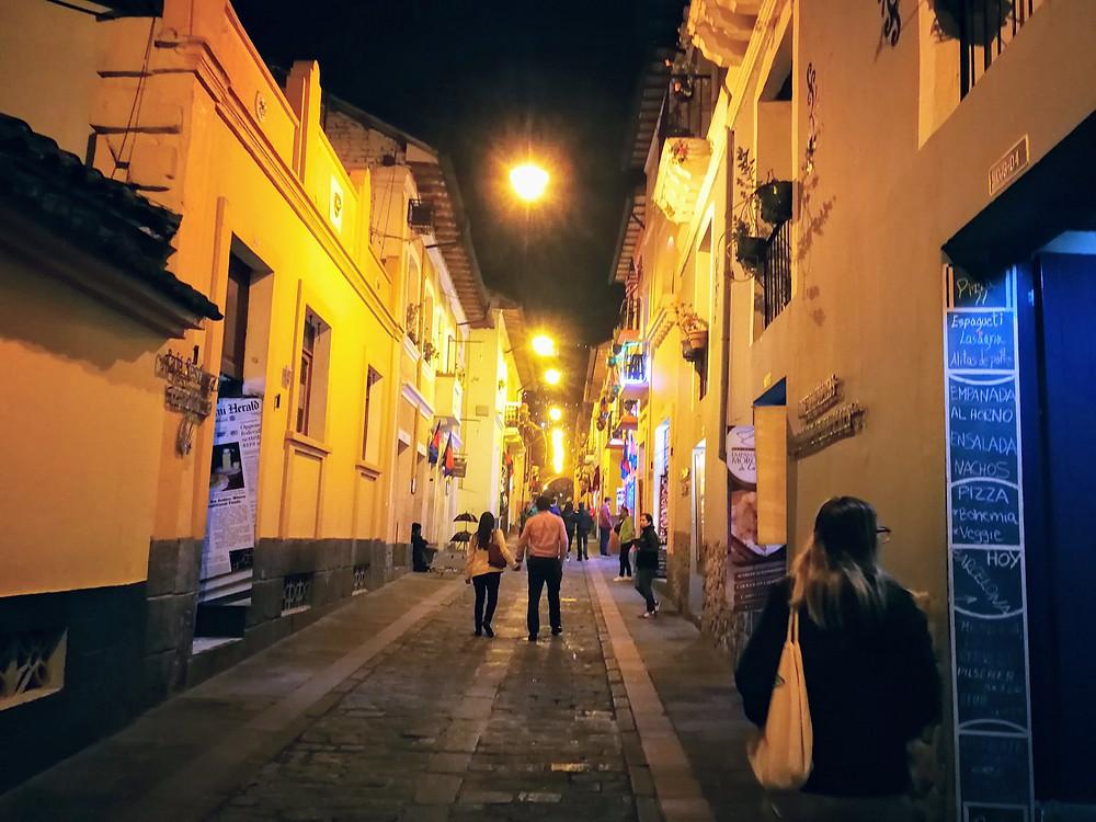 Calle de la Ronda, Quito, Equateur