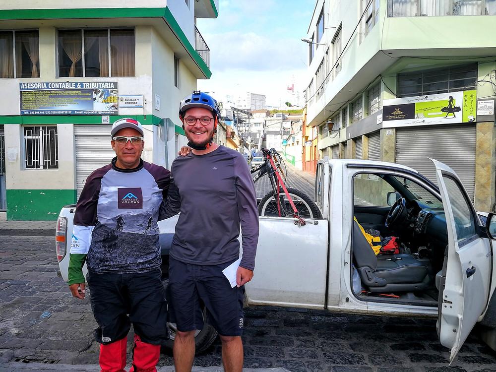 Merci pour le transport, Equateur, Latacunga
