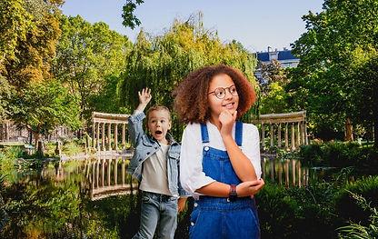 ARTHUR & NOÉMIE AU PARC MONCEAU