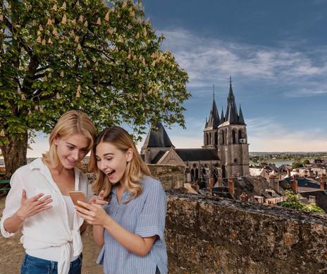 Jeu de piste ludique entre amies à Blois