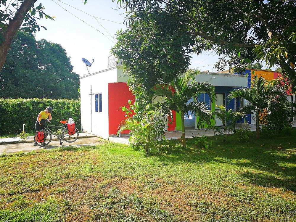 1er arrêt en Colombie, cyclotourisme