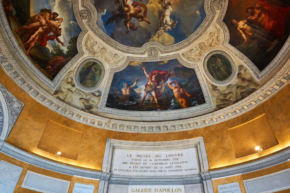 Le Louvre avec des enfants