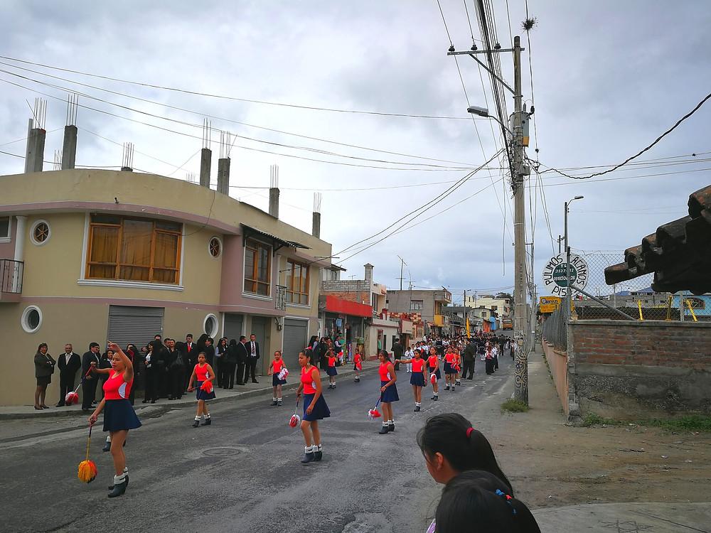 Danses de rue à Cotacachi, Inti Raymi