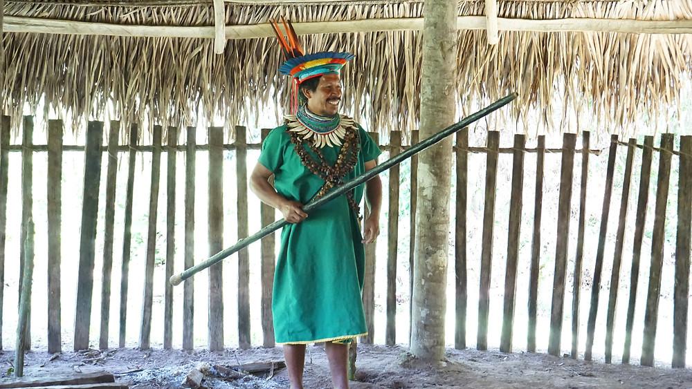 Le Shaman, Cuyabeno, Amazonie, Equateur