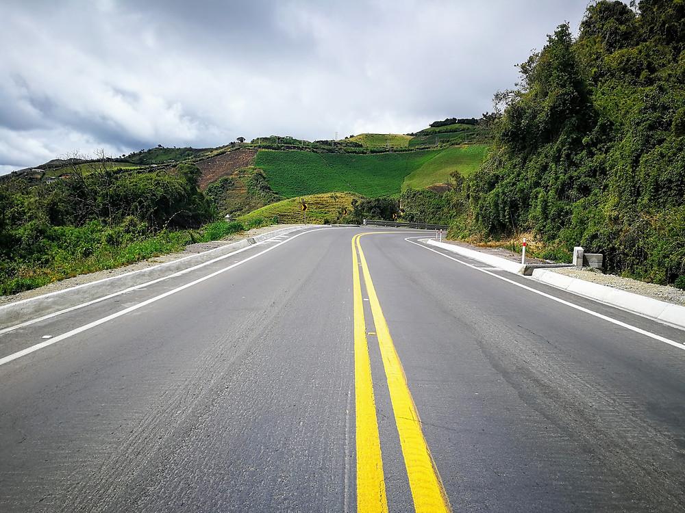 Belles routes équatoriennes