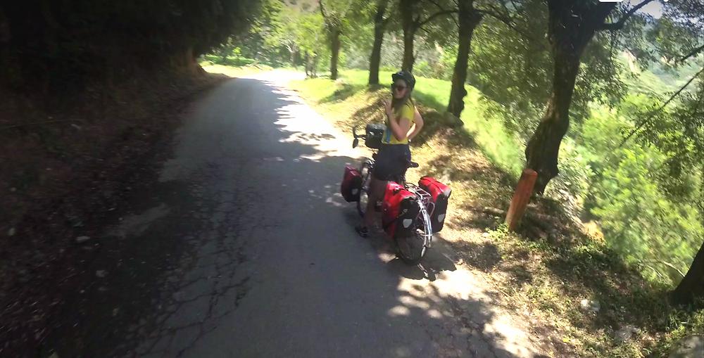 Descente de folie à vélo, Colombie