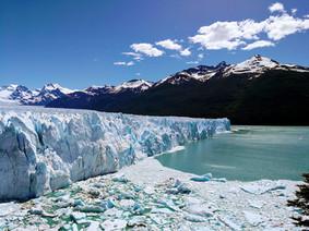 L'avion, El Calafate et les glaciers