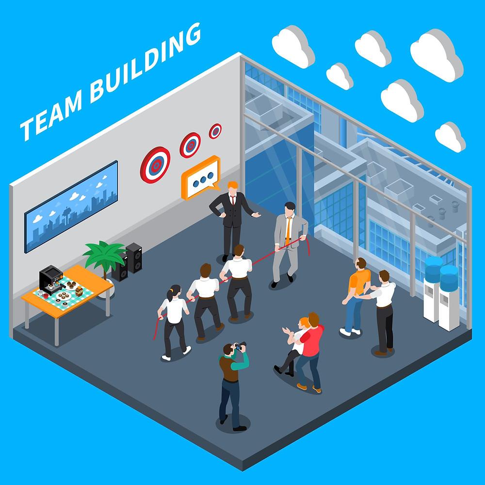 5 activités de team-building