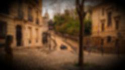 En partant de la Place des Abbesses, située sur la butte Montmartre, déchiffrez nos messages etretrouvezune peinture disparue.