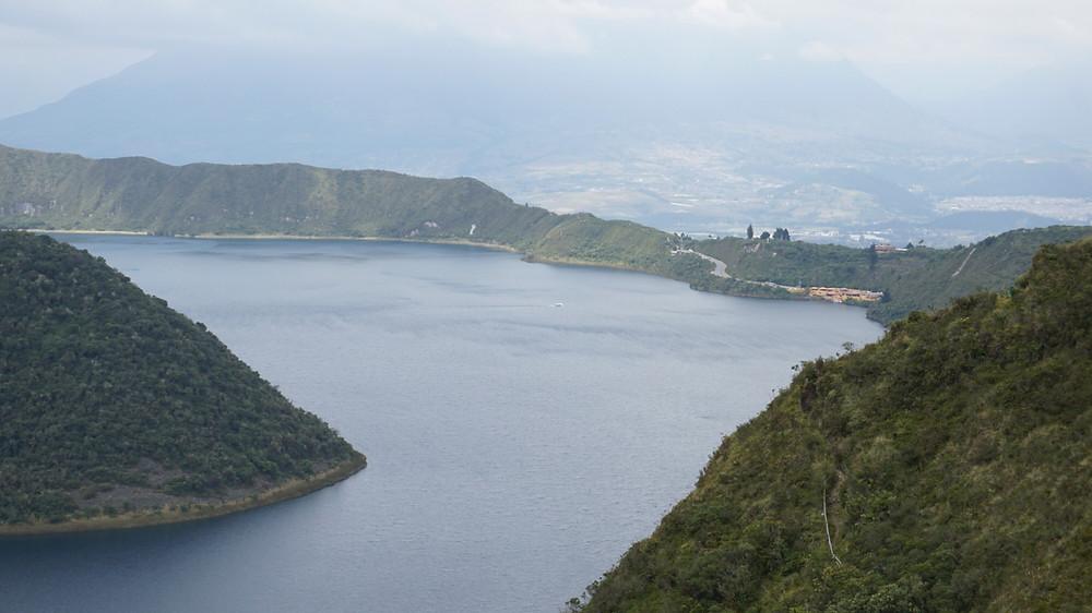 Lagune Cotacachi, Equateur
