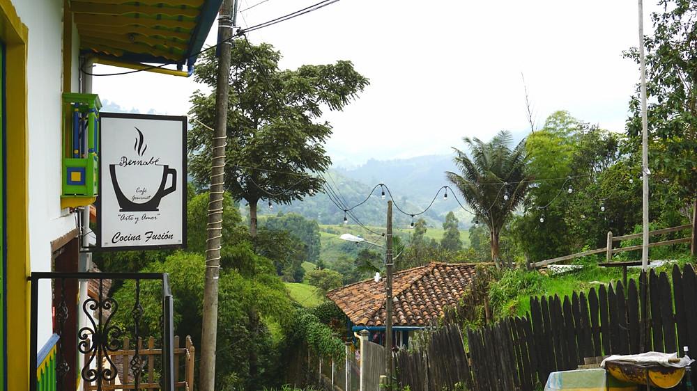 Bernabé, Cocina Fusion, Salento, Colombie