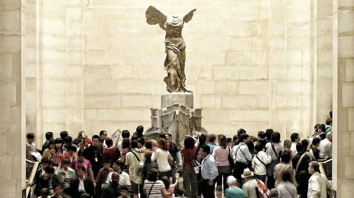 Jeu de piste en groupe au Louvre à Paris
