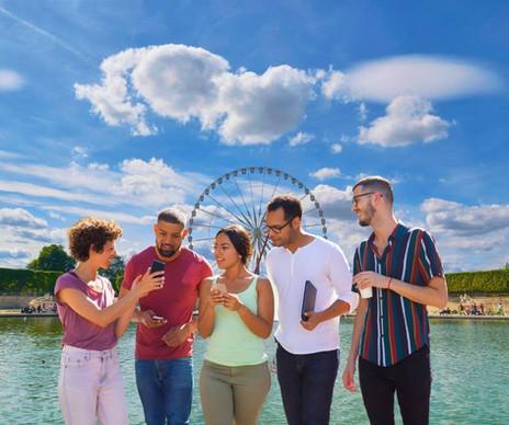 Balade insolite entre amis ou en famille à Paris aux Tuileries