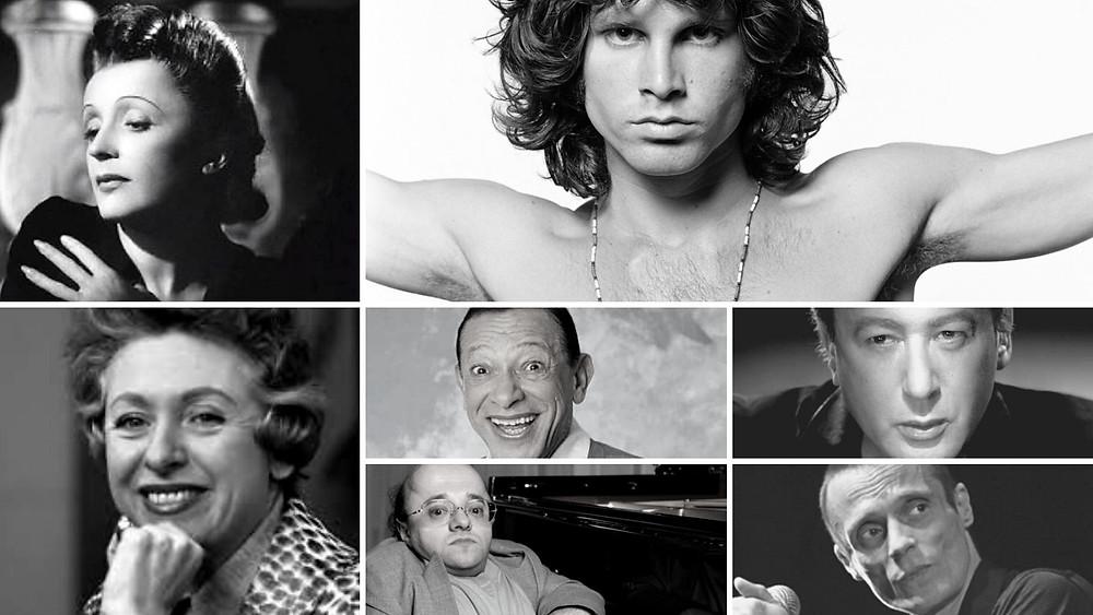Tombes de chanteurs et chanteuses célèbres
