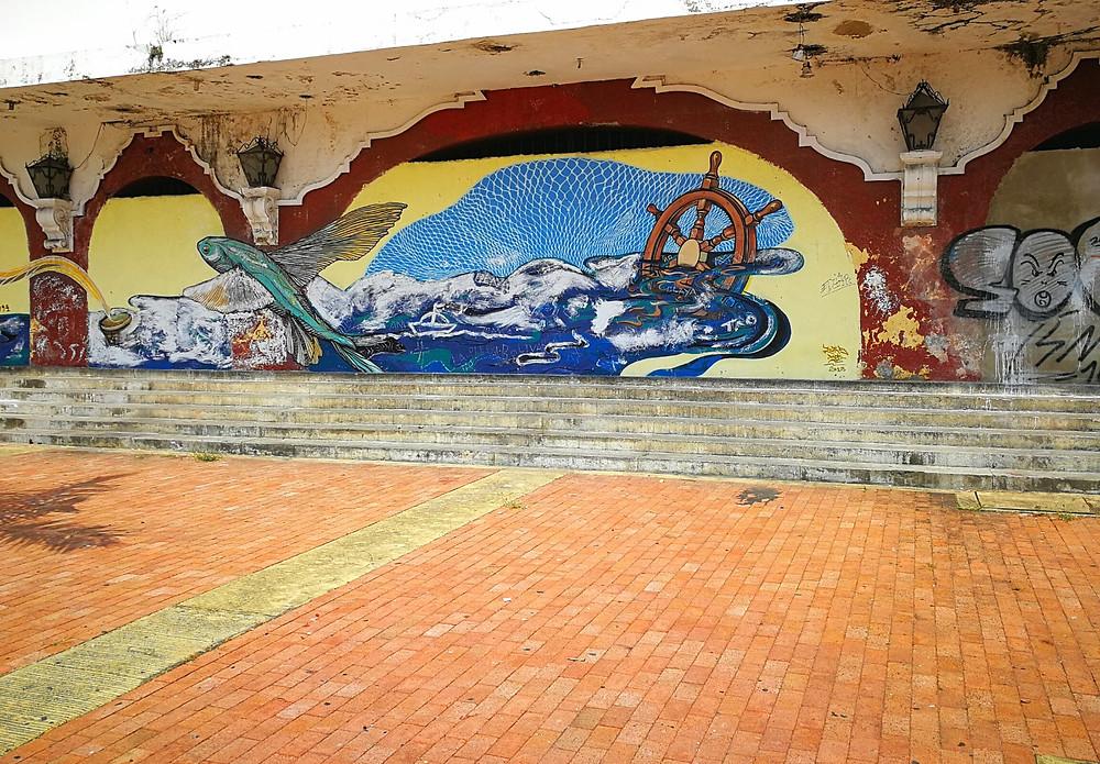 Fresque, Carthagène, Colombie