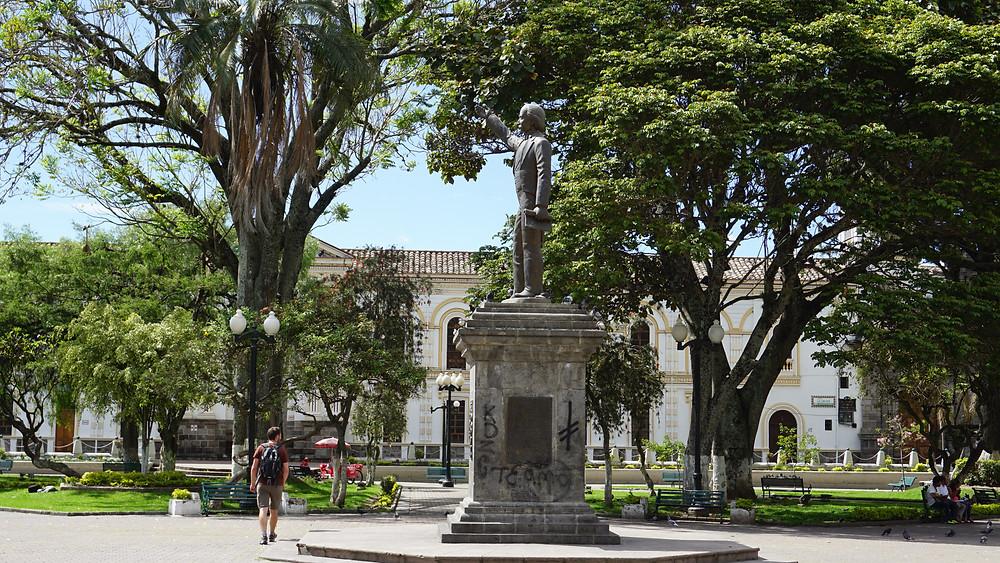 Place à Ibarra, Equateur