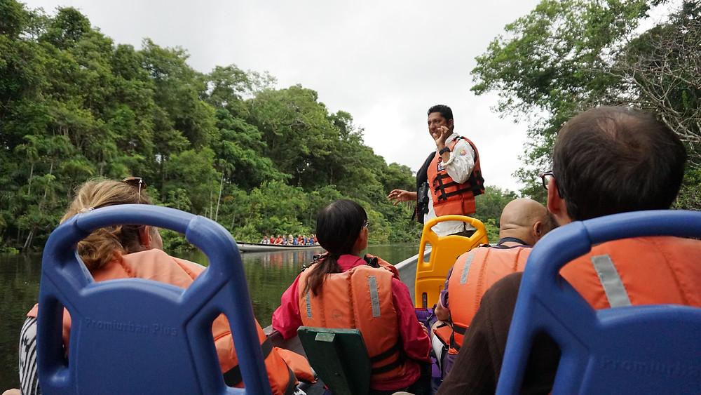 Guide à Cuyabeno, Equateur