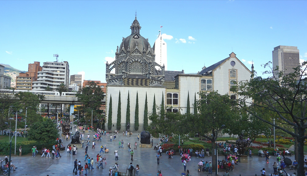 Place Botero, Medellin, Colombie